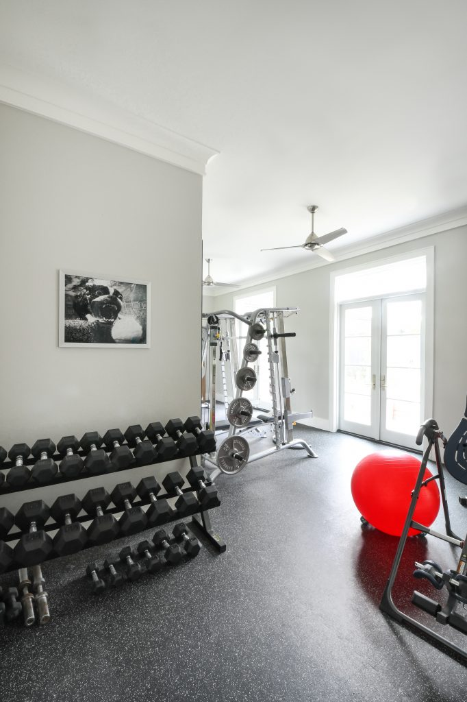 Stylish Home Gym Ideas, Home Additions, Spring Updates, LBJ Construction, Houston remodeling