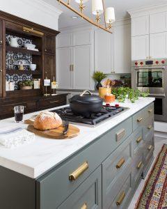 2020 Design Trends, Three Toned Kitchen, LBJ Construction, Houston Remodeling