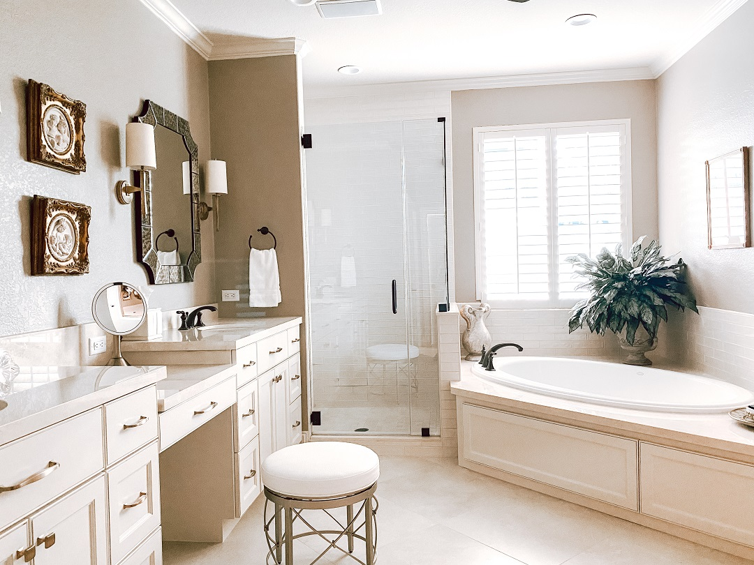 McDuffie Master Bathroom LBJ Construction Houston Remodeling and Handyman