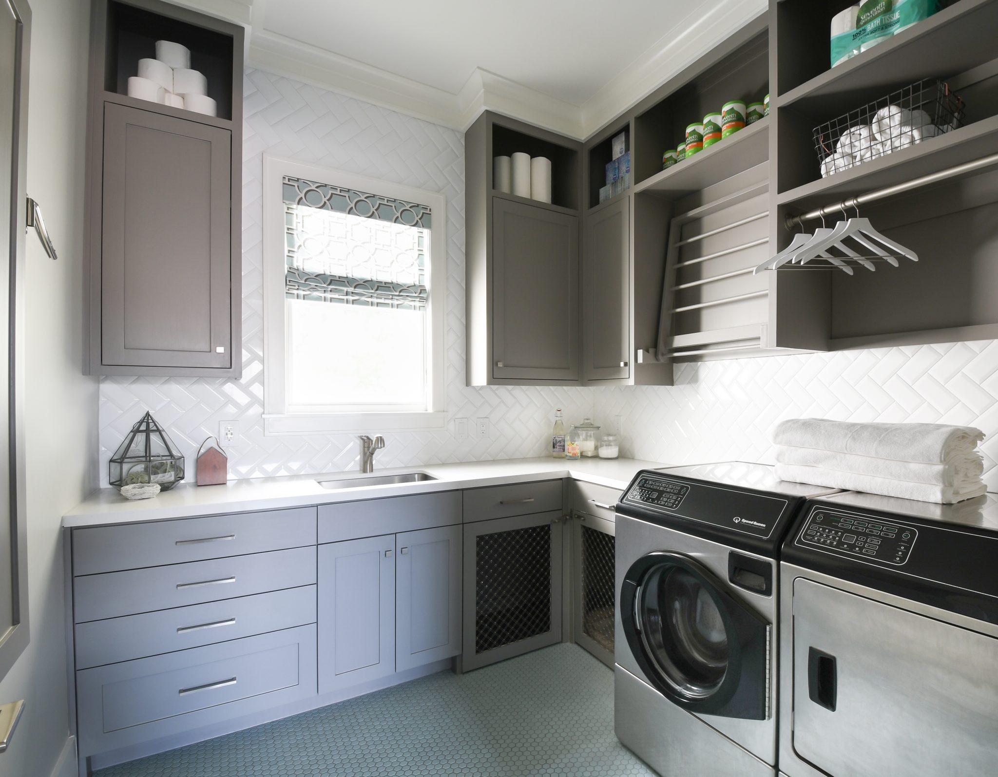 laundry room remodel LBJ Construction Houston's Luxury remodeler and Handyman
